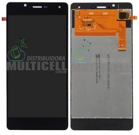 GABINETE FRONTAL MODULO COMPLETO LCD DISPLAY TOUCH SCREEN BLU R1 HD R0031UU R0011UU PRETO ORIGINAL