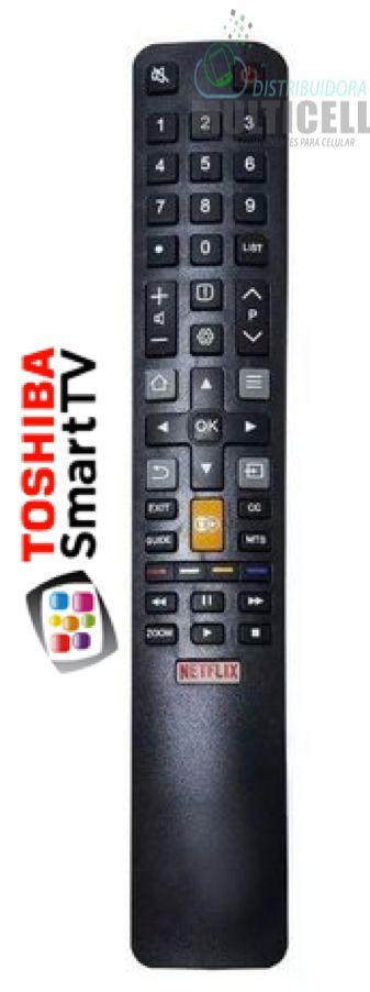 CONTROLE REMOTO TOSHIBA SMART TV LED TCL FBG-8027 1ª LINHA