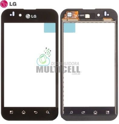 TELA TOUCH SCREEN LG P970 LG OPTIMUS BLACK 100% ORIGINAL