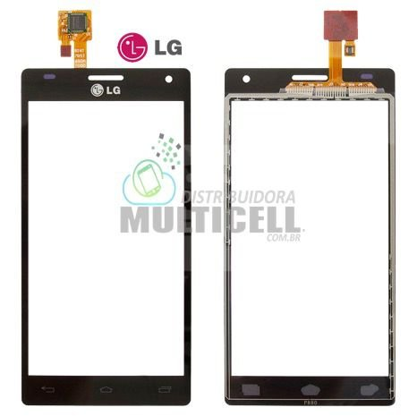 TELA TOUCH SCREEN LG P880 LG OPTIMUS 4X HD PRETO 100% ORIGINAL
