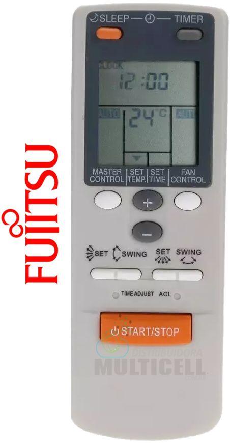 CONTROLE PARA AR CONDICIONADO SPLIT FUJITSU FBG-8065 1ª LINHA