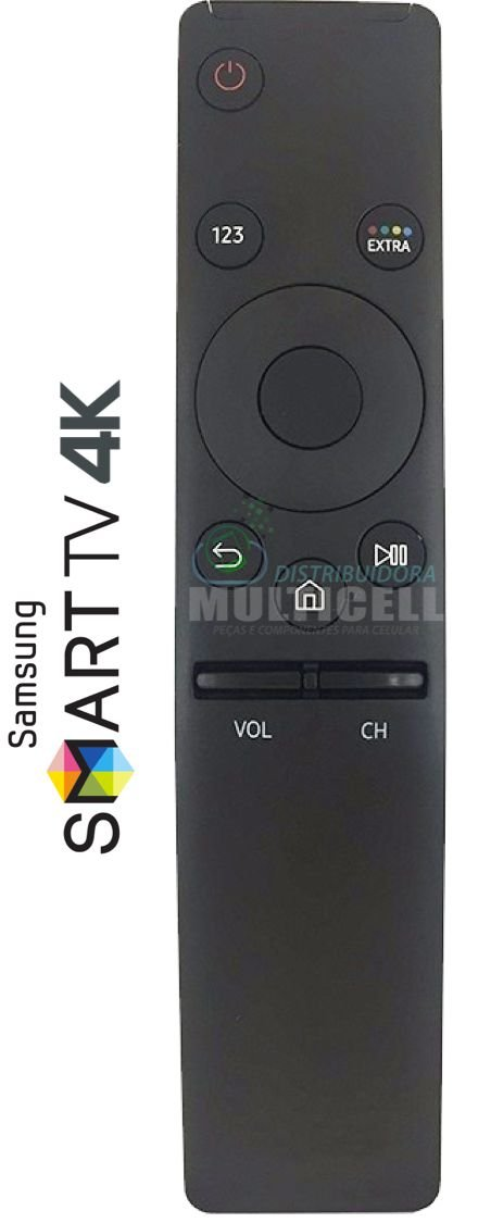 CONTROLE SMART TV LED SAMSUNG 4K LE-7702
