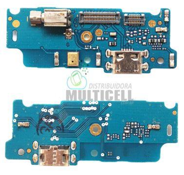 PLACA FLEX CONECTOR USB DOCK DE CARGA E DADOS MOTOROLA XT1762 XT1763 MOTO E4 1ªLINHA QUALIDADE AAA
