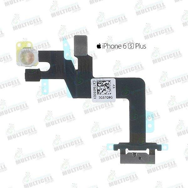 FLEX POWER FLASH E MICROFONE APLLE A1687 A1634 IPHONE 6S PLUS QUALIDADE AAA
