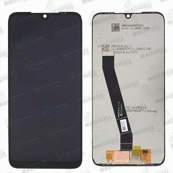 GABINETE FRONTAL DISPLAY LCD MODULO COMPLETO XIAOMI M1810F6LG REDMI 7 1ªLINHA QUALIDADE AAA
