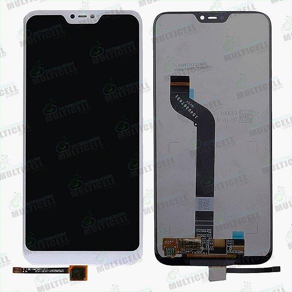 GABINETE FRONTAL DISPLAY LCD MODULO COMPLETO XIAOMI REDMI MIA2 LITE BRANCO 1ªLINHA QUALIDADE AAA