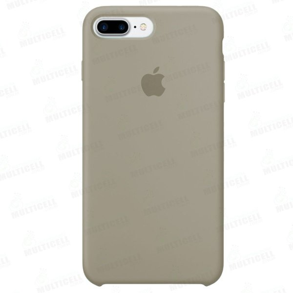CAPA CASE SILICONE APLLE IPHONE 7 PLUS IPHONE 8 PLUS MMWF2ZM/A CREME