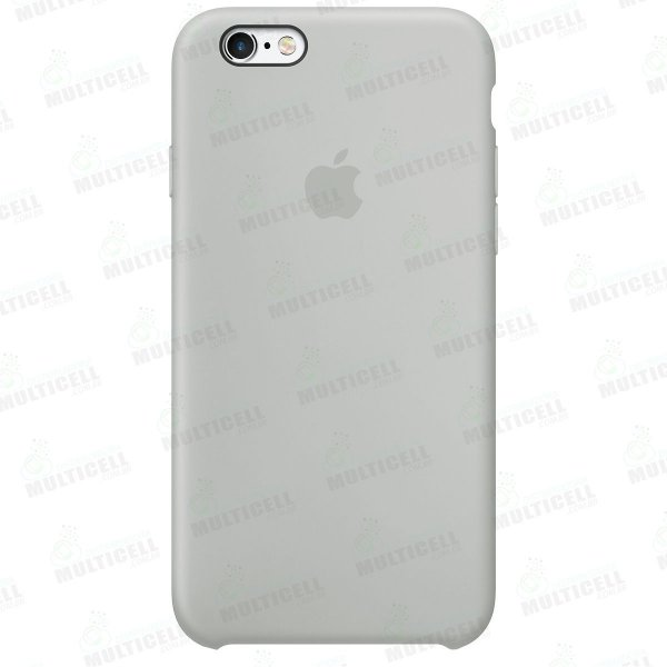 CAPA CASE SILICONE APLLE IPHONE 6S MMWF2ZM/A CINZA