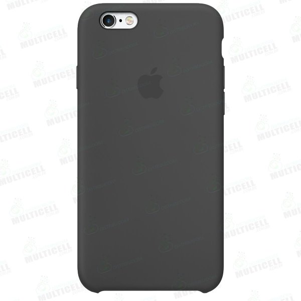 CAPA CASE SILICONE APLLE IPHONE 6S MMWF2ZM/A CINZA ESCURO