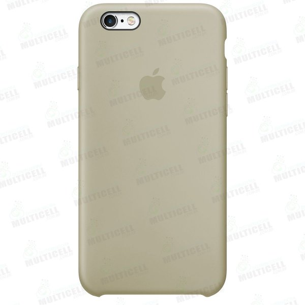 CAPA CASE SILICONE APLLE IPHONE 6S MMWF2ZM/A COR BEGE