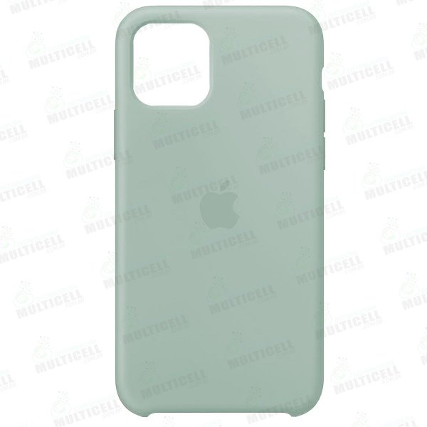 CAPA CASE SILICONE APLLE IPHONE 11 MWVX2ZM/A VERDE CLARO