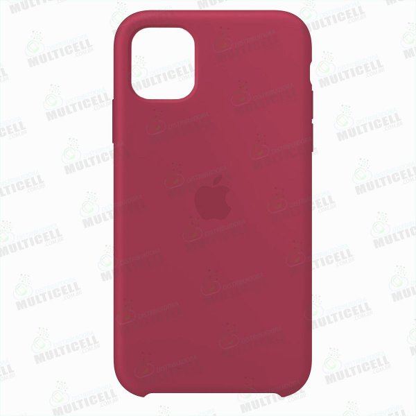 CAPA CASE SILICONE APLLE IPHONE 11 PRO MAX MWVX2ZM/A VERMELHO