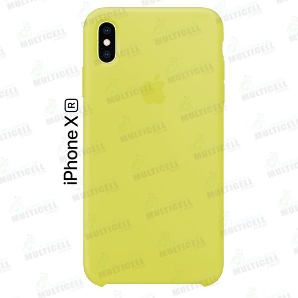 CAPA CASE SILICONE APLLE IPHONE XR MMWF2ZM/A AMARELO
