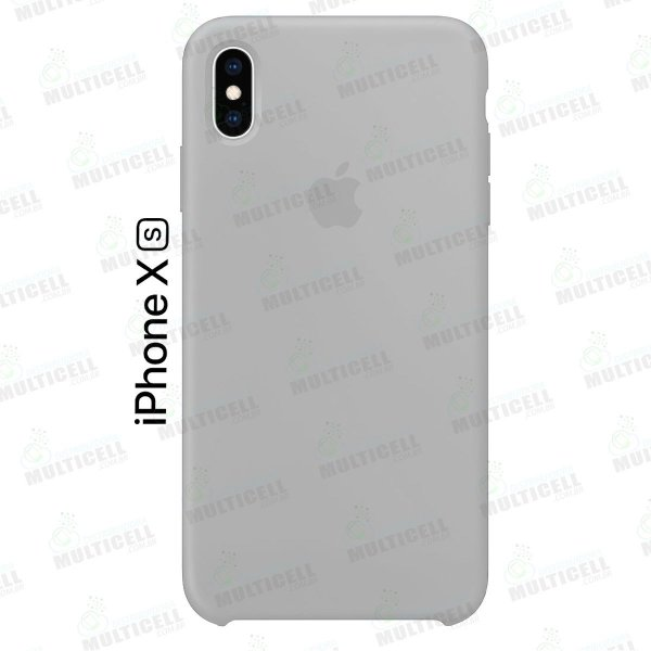 CAPA CASE SILICONE APLLE IPHONE XS MMWF2ZM/A CINZA CLARO