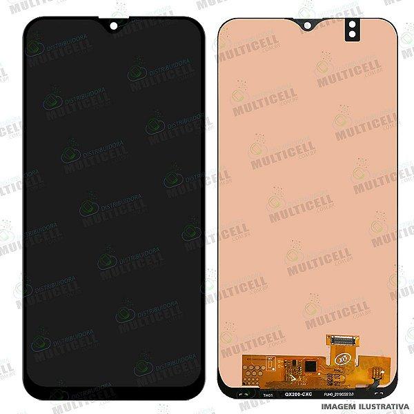 GABINETE FRONTAL DISPLAY LCD MODULO COMPLETO SAMSUNG A205 GALAXY A20 (ORIGINAL CHINA OLED)
