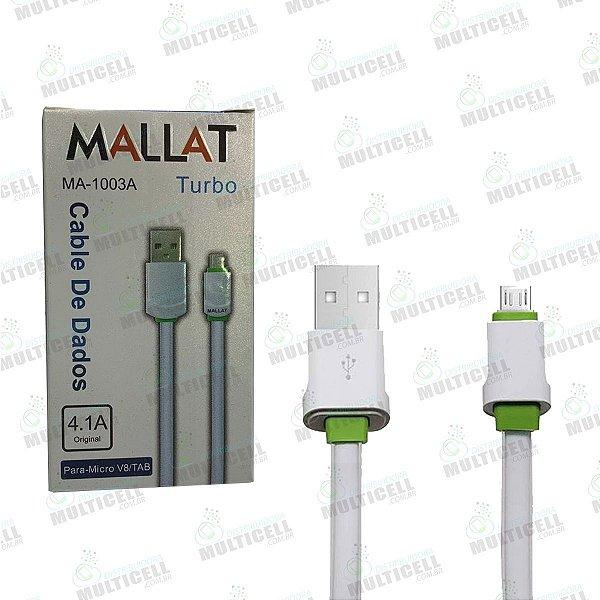 CABO MICRO USB MALLAT MA-1003A V8 ORIGINAL