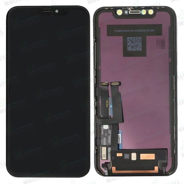 GABINETE FRONTAL DISPLAY LCD MODULO COMPLETO APPLE IPHONE XR 1ªLINHA (QUALIDADE INCELL)