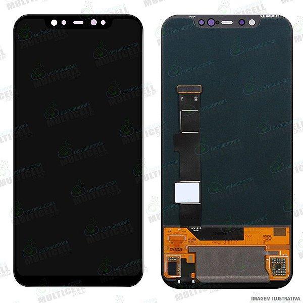 GABINETE FRONTAL DISPLAY LCD MODULO COMPLETO XIAOMI MI8 MI 8 MI-8 M1803E1A (1ªLINHA QUALIDADE OLED)