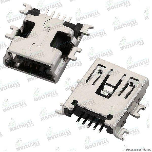 CONECTOR USB DOCK DE CARGA PARA NAVEGADOR DE GPS / CAMERAS DIGITAIS / CELULARES  UNIVERSAL (5 TRILHAS 4 BASE SUSPENSA)