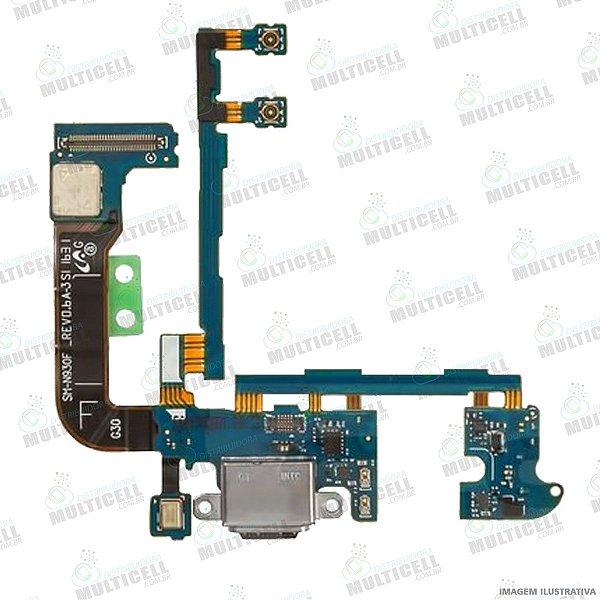 FLEX CONECTOR USB DE CARGA SAMSUNG G930F GALAXY NOTE 7 1ªLINHA QUALIDADE AAA