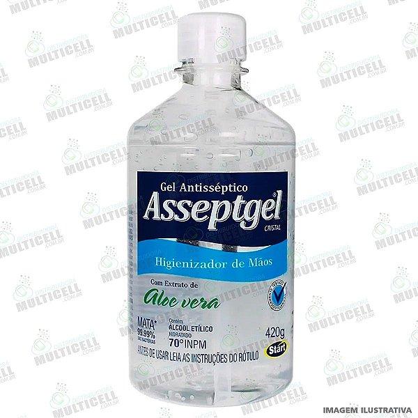 ALCOOL GEL ASSEPTGEL CRISTAL 420G