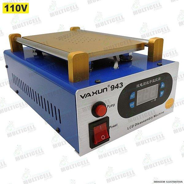 MAQUINA SEPARADORA DE LCD TOUCH SCREEN COM AQUECIMENTO E VACUO E SUCÇÃO YAXUN YX-943 110V