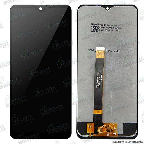 GABINETE FRONTAL DISPLAY LCD MODULO COMPLETO LG X540 K50S K50 S PRETO ORIGINAL CHINA (SEM ARO)