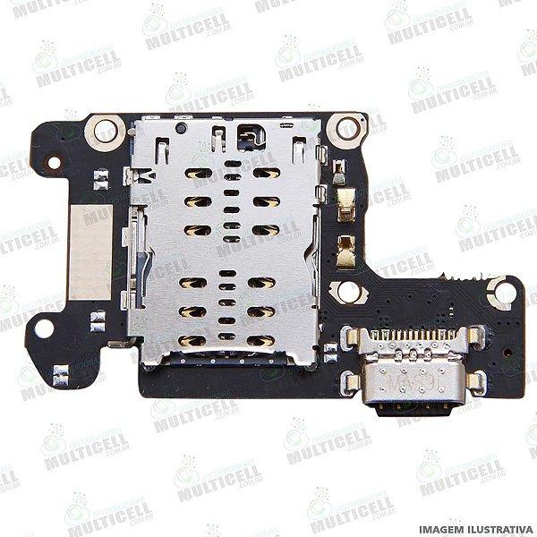 CONECTOR USB DOCK DE CARGA E CHIP XIAOMI Mi 9T MI9 T MI-9T M1903F10G 1ªLINHA (QUALIDADE AAA)