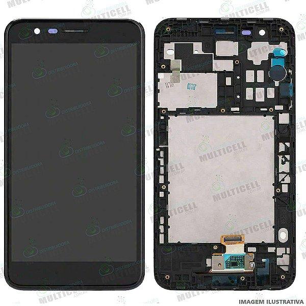 GABINETE FRONTAL DISPLAY LCD MODULO COMPLETO LG K10 2018 / LG K11 ORIGINAL CHINA IMPORTADO