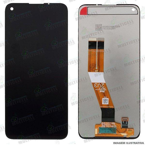 GABINETE FRONTAL DISPLAY LCD MODULO COMPLETO SAMSUNG A115 GALAXY A11 ORIGINAL IMPORTADO