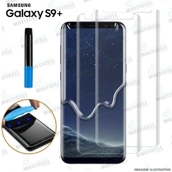 PELICULA DE VIDRO UV SAMSUNG G965 S9+ / S9 PLUS