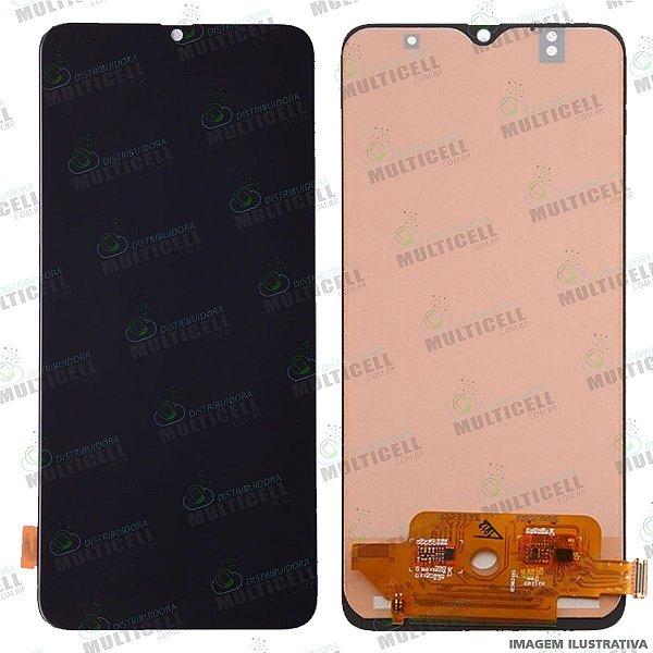 GABINETE FRONTAL DISPLAY LCD MODULO COMPLETO SAMSUNG A705F A705 GALAXY A70 1ª LINHA (QUALIDADE INCELL) SEM SENSORES