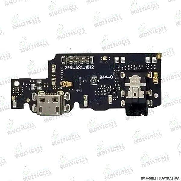 DOCK CONECTOR DE CARGA USB + MICROFONE XIAOMI REDMI NOTE 5 / NOTE 5 PRO 1ªLINHA (QUALIDADE AAA)