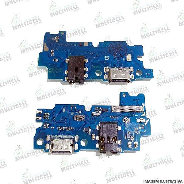 FLEX DOCK CONECTOR DE CARGA SAMSUNG GALAXY A50S 1ªLINHA (QUALIDADE AAA)