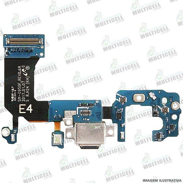 FLEX CONECTOR DOCK DE CARGA SAMSUNG G950F GALAXY S8  ORIGINAL