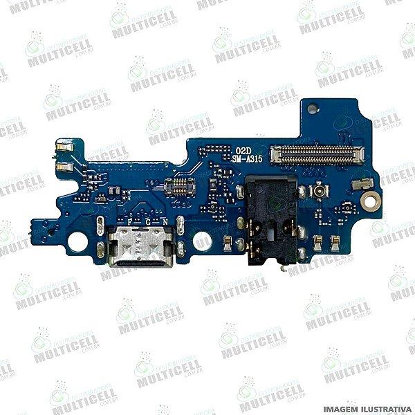 CONECTOR DOCK DE CARGA USB E MICROFONE SAMSUNG A315 GALAXY A31 1ª LINHA (QUALIDADE AAA)