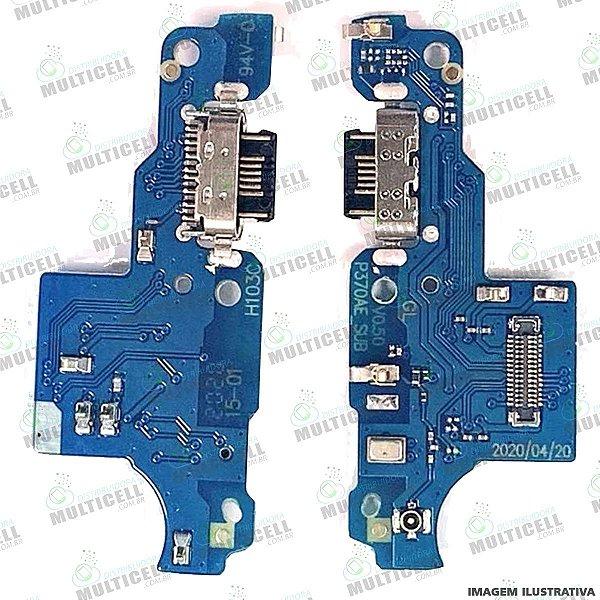 FLEX DOCK CONECTOR DE CARGA MICROFONE MOTOROLA XT2087 MOTO G9 1ªLINHA (QUALIDADE AAA)