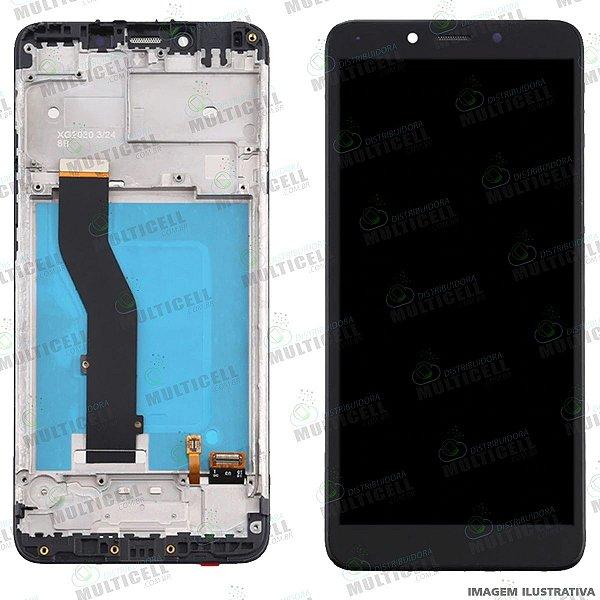 GABINETE FRONTAL DISPLAY LCD MODULO COMPLETO LG X120 K8 + / k8 PLUS ORIGINAL CHINA (C/ARO)