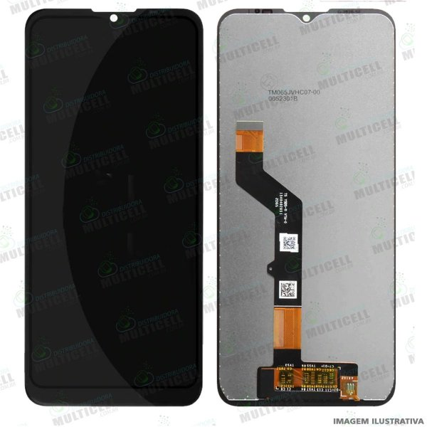 GABINETE FRONTAL DISPLAY LCD MODULO COMPLETO MOTOROLA XT2081 MOTO E7 PLUS (ORIGINAL CHINA)