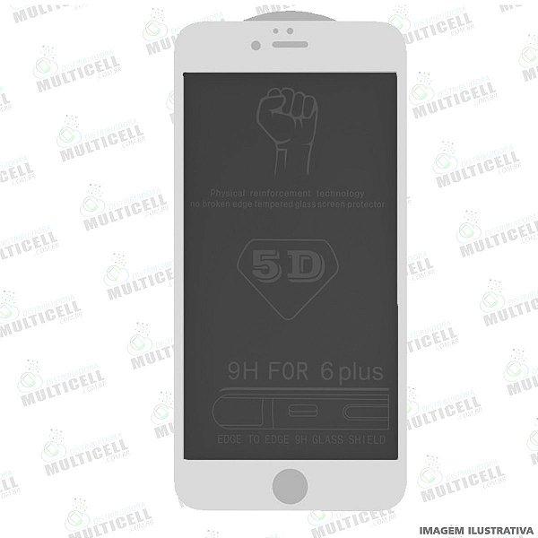 PELÍCULA DE VIDRO 3D PRIVACY APLLE IPHONE 7G / 8G  BRANCA