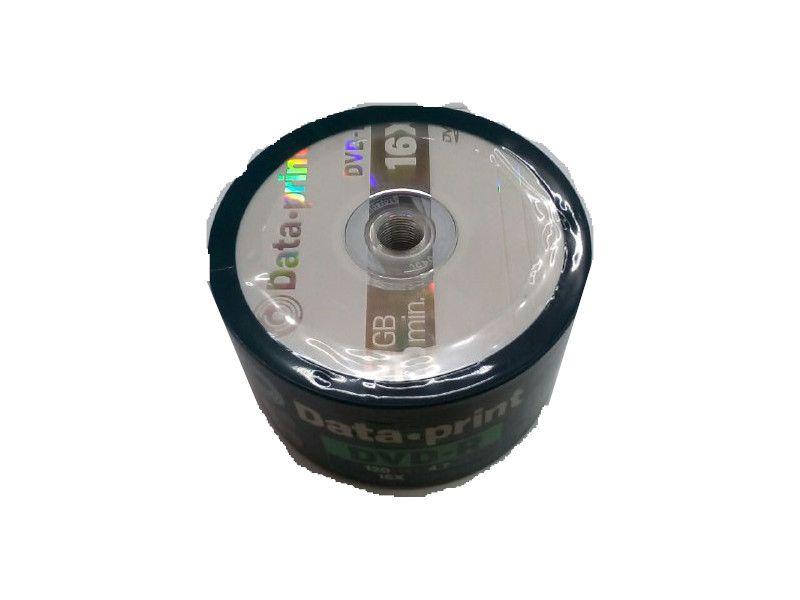 DVD-R Logo 4.7GB Data Print 16x pct 50 Unidades