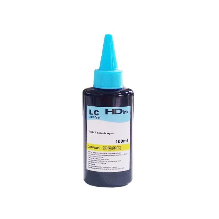 Tinta Light Cyan para Impressoras HP 100ml
