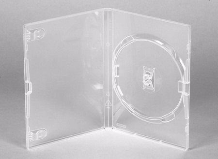 Caixa para DVD Padrão Transparente - Cx c/ 50 Unidades
