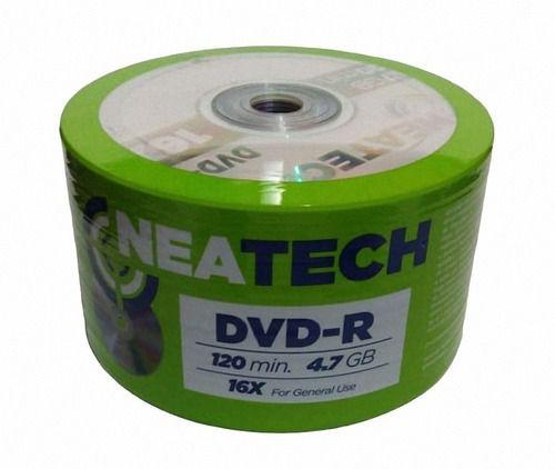 DVD-R Neatech com logo 4.7GB 50 Unidades