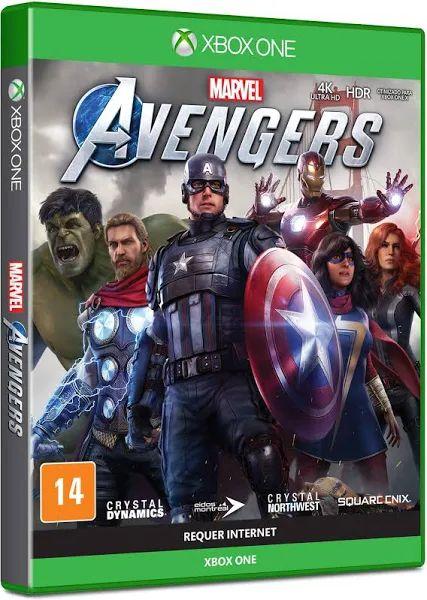 Jogo Marvel's Avengers Xbox One Mídia Física Original - Edição Padrão