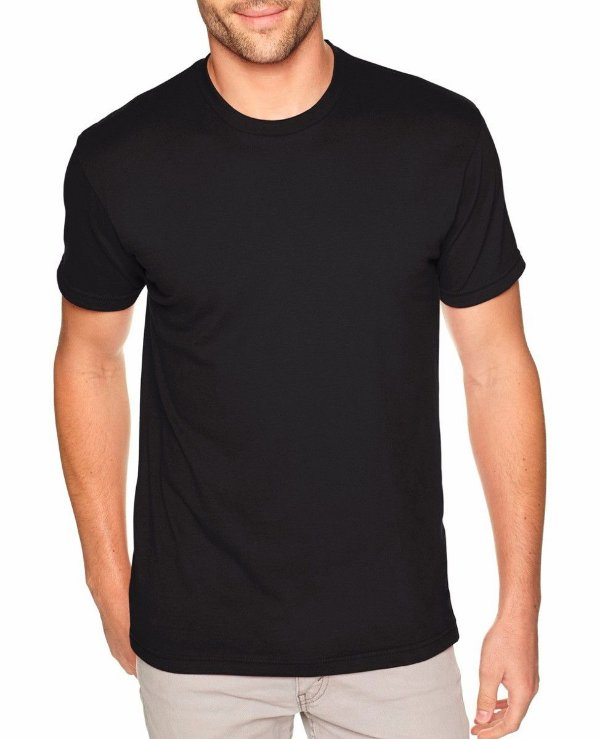 Camiseta preta poliester dry-fit