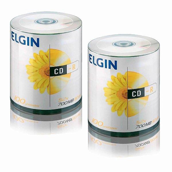 CD-R Elgin Logo pct 100 unidades