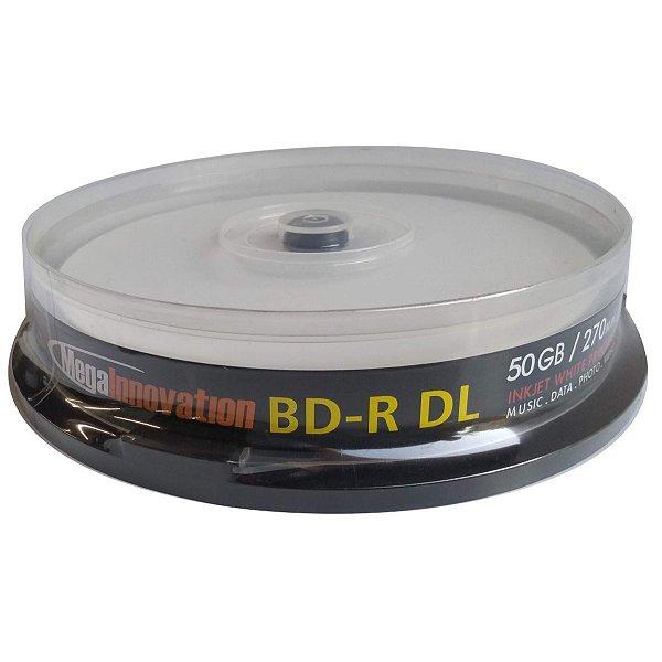 Blu-ray DL Mega Innovation 6x 270min 50GB pct 10 unidades