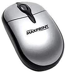 Mouse Óptico 800dpi USB 1.5m Maxprint