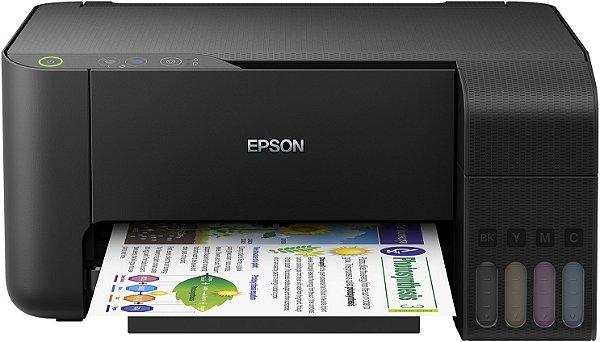 Impressora Multifuncional Epson L3150 Jato de Tinta